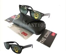 New Unisex Sunglasses Ray-Ban RB2132 901 New Wayfarer Black/Green 55mm