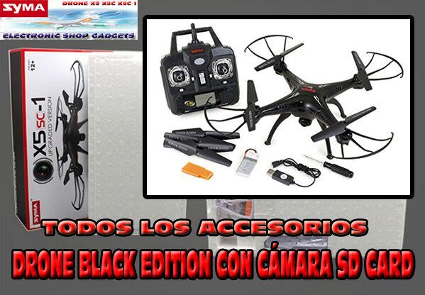 DRONE SYMA X5SC 1 FALCON FALCON FALCON COLOR NEGRO O BLANCO -  BOX DE LA CASA - . 838610