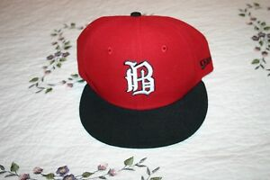 Birmingham-Barons-New-Era-59FIFTY-Fitted-Cap-Sz-7-1-8-034-White-Sox