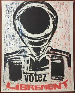 Affiche-originale-MAI-68-VOTEZ-LIBREMENT-45x56cm