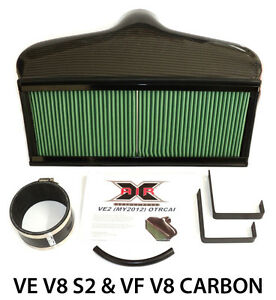 Commodore-VE-S2-amp-VF-V8-CAPA-X-Air-OTR-Cold-Air-Intake-Induction-Carbon-Fibre
