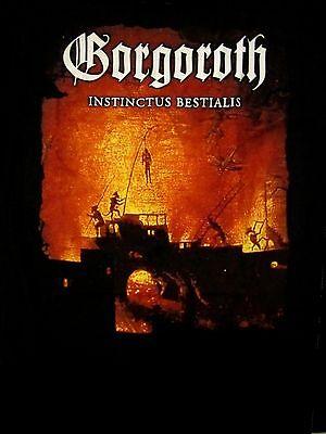 GORGOROTH cd cvr INSTINCTUS BESTIALIS Official SHIRT XL new
