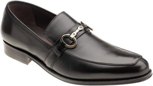 Mezlan Men/'s 13504 Black Leather Slip On Bit Loafer