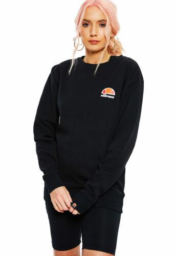 Ellesse Sweater Damen ASHBURTON SWEATSHIRT Schwarz Black