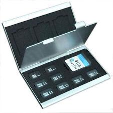 Aluminio Metal Micro SD TF MMC Tarjeta De Memoria Caja De Almacenamiento