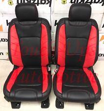 Katzkin 2015 2018 Ford F 150 Xlt Stx Super Crew Leather Seats Limited Black Red