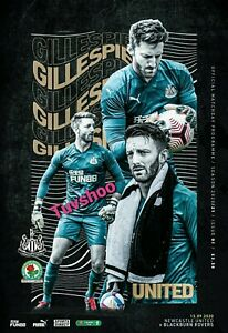 Newcastle-United-v-Blackburn-Rovers-CARABAO-CUP-2ND-ROUND-Programme-15-9-20