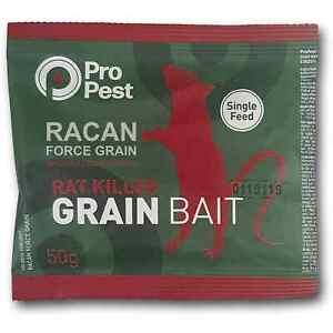 Racan Whole Wheat Brodifacoum Rat & Mouse Poison Killer Control Bait Sachets