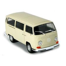 Welly 22472 VW T2 Bus beige 1972 Maßstab 1:24 Coche a escala ¡Nuevo! °