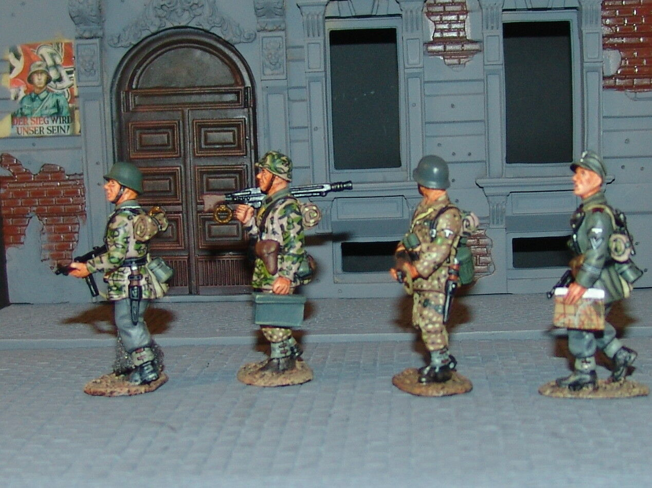 King & Country WSS027 - Panzer Grenadiers on Patrol