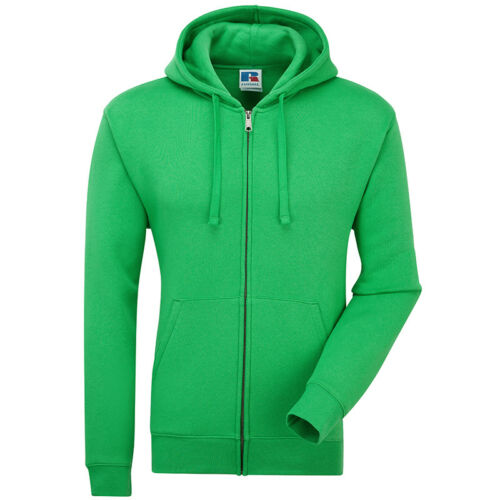 Russell Adults Unisex Zip Up Heavyweight Sweatshirt Jacket Warm Hooded Coat New