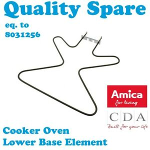 Amica EHC12212E EHC12214E EHC12220E EHC12256E pour Cuisinière Four base élément 1300 W