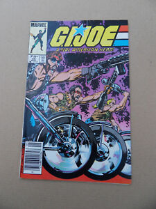 G.I. Joe , A Real American Hero 35 . Marvel 1985 .VG / FN