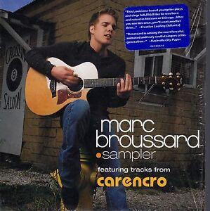 MARC-BROUSSARD-CARENCRO-5-TRACKS-CD-SAMPLER-PROMO-CARPETA-CARTON