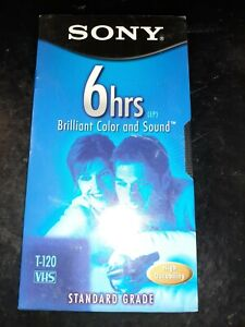 Sony T120VRH Premium Grade VHS Video Tapes Blank NEW!!! *FREE SHIPPING*