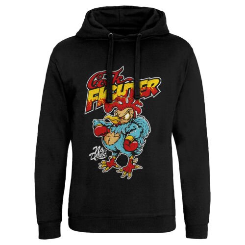 Cock Fighter Funny Hoodie Chicken Cartoon Boxing Gloves Boxer Training Gym P578