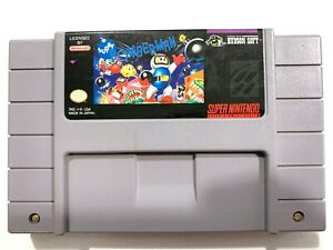 Super-Bomberman-Super-Nintendo-SNES-Game-Tested-Working-amp-Authentic