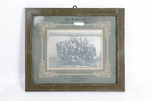Very-Beautiful-Age-GDR-Picture-Frame-With-Picture-Wood-Frame