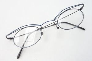Sonnenbrillen & Zubehör Cateye Brille Damen Gestell Metall Grau Blau Kleine Gläser Ausgefallen Grösse M Seien Sie In Geldangelegenheiten Schlau