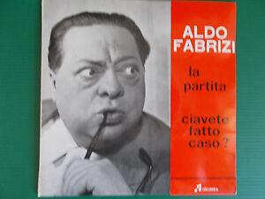 45-GIRI-ALDO-FABRIZI-LA-PARTITA-CIAVETE-FATTO-CASO-MARIO-CONSIGLIO-RARISSIMO