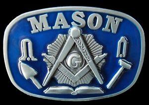 MASON-MASONIC-WORKER-COMPASS-TOOL-BELT-BUCKLES-BOUCLE-DE-CEINTURE