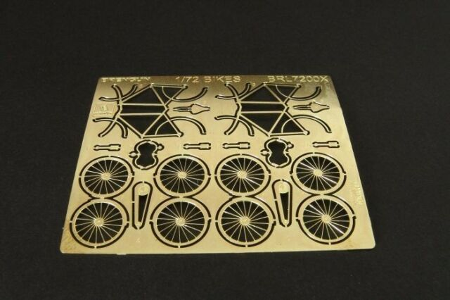 Brengun 72004 1:72 Photo Etch Construction Kit for Bicycles