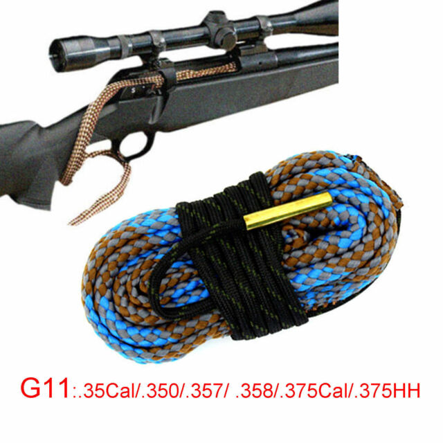 Xhunter Bore Brush .35 Cal .350 .357 .375 HH Borebrush Rifle Gun Snake Cleaner