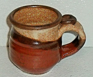Pottery-Mug-Cup-Signed-Deanna-Hand-Thrown-3-75-034