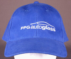 Image is loading PPG-Autoglass-Hat-Blue-Anvil-Embroidered-Strapback-Car- 08dc2b67c66