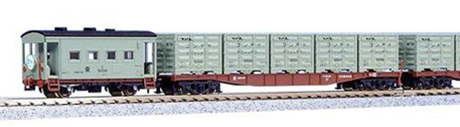 KATO N Scale Container Express Limited Issue Basic 9-Car Set 10-489 Railr new