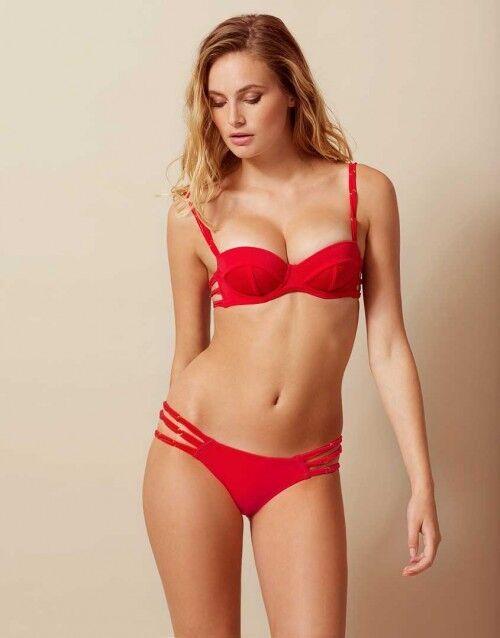 Montana Rosso PROVOCATEUR AGENT Bikini Set 32DD Small AP2 8-10 Bnwts
