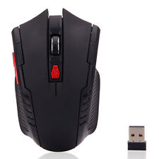 6 Buttons 2.4GHz 2400DPI Wireless USB Receiver Optical Mouse Mice for Laptop PC