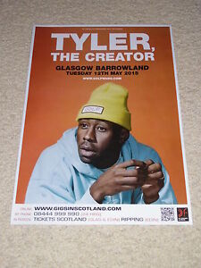 tyler the creator concert poster live gig tour poster buy 1 get 1