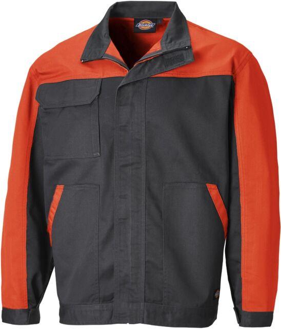 Dickies Everyday Work Jacket Grey /& Orange Men/'s Coat Sizes XS-XXXXL