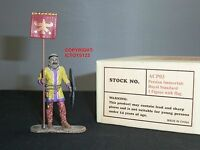 East Of India Acp03 Persian Immortals Royal Standard Bearer With Flag Figure