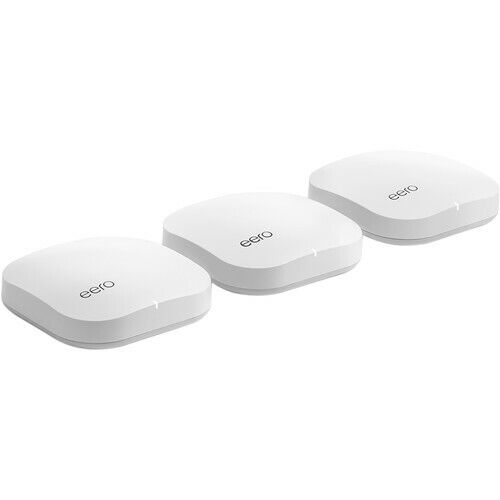 NEW eero - Pro Mesh Wi-Fi 5 System (3 eeros), 2nd Generation - White