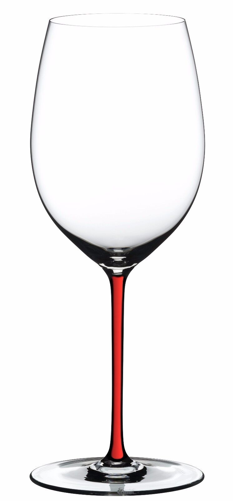 Riedel Fatto A Mano Cabernet   Merlot rouge Wine Glass rouge Stem 4900 0R NEW