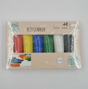 Acrylfarben-Set-6-verschiedene-Farben-je-22-ml