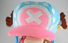 One Piece Anime Tony Chopper 2 years later cap hat Cosplay Cartoon Blue New