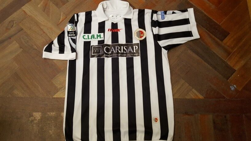 Maglia shirt Ascoli serie B Capece Match Worn