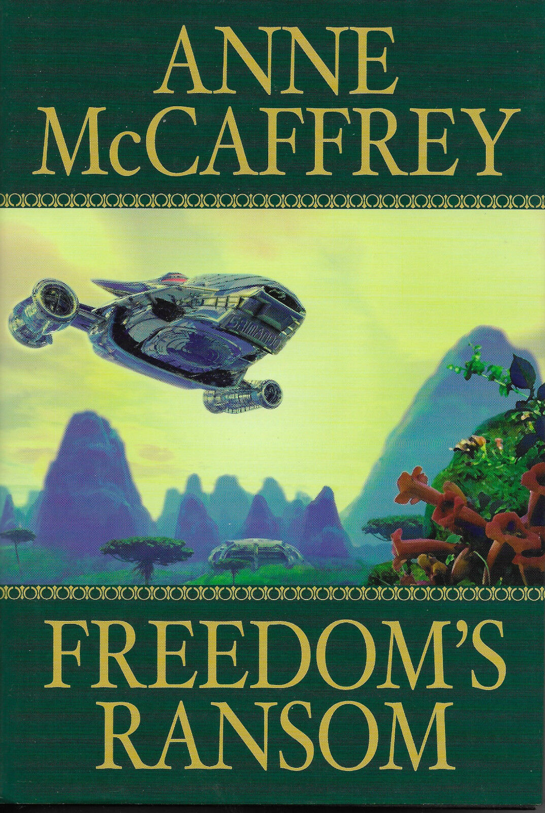 Catteni Sequence: Freedom's Ransom Vol. 4 by Anne McCaffrey (2002,  Hardcover)   eBay