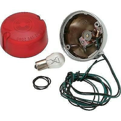 Rear Turn Signal Single-Filament with Red Lens sold each Chris Products  8407R