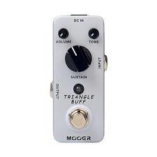 Mooer Triangle Buff Fuzz Electric Guitar Effect Pedal True Bypass Mini Effects