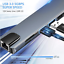 thumbnail 7 - USB-C HUB Type-C USB  5/6/8/10/11 IN 1 3.0 4K HDMI RJ45 Ethernet Micro SD TF OTG