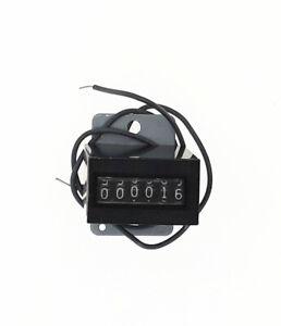 10 Pcs Lot 6 Digits Arcade Coin Counter 12v Mechanical
