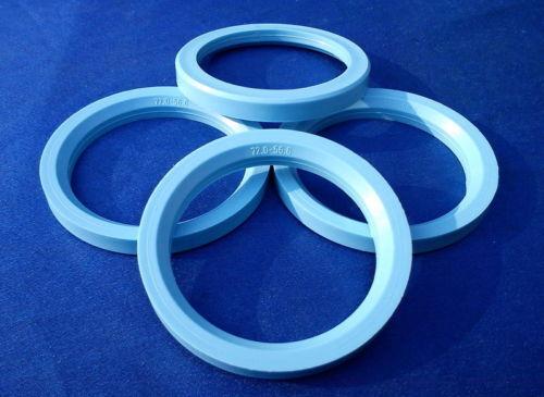 56,6 mm 4 anillas de centrado 72,0 mm