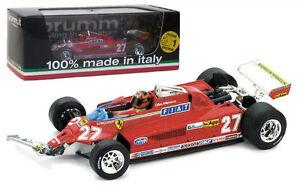 Brumm R436-Ferrari Ferrari 126ck Turbo Canadien Gp 1981 - G Villeneuve Echelle 1/43 8020677016403