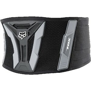 Fox-Racing-Adult-MX-Turbo-Belt-Kidney-Belt-Back-Support-Black-Grey