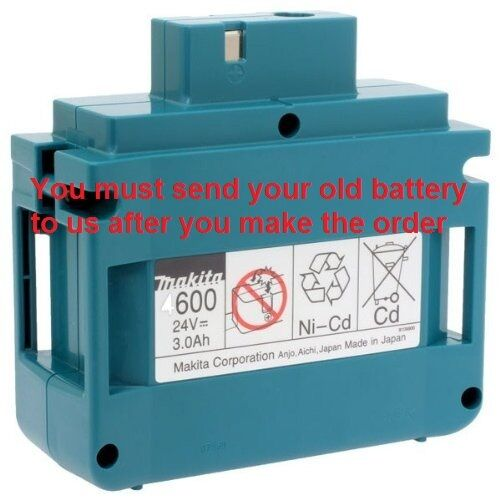 Battery Rebuild service for Makita 193001-6 4600 pruner 4604DW 4603DW 24V