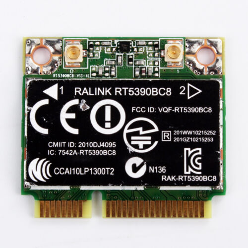 Ralink RT5390BC8 WLAN Bluetooth Card HP 630705-001 For DV4 DV6 DV7 G4 G5 G6 G7